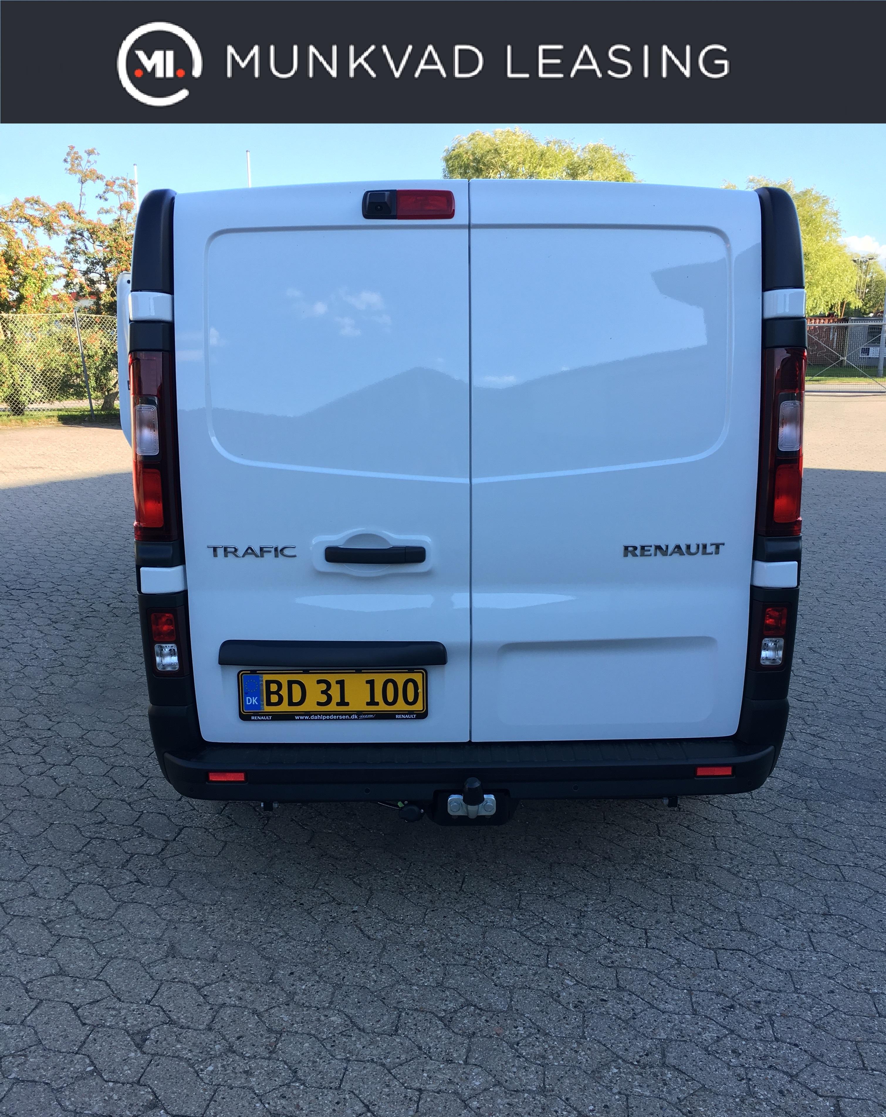 Leasing af Renault Trafic 1,6 120 HK L2H1   Munkvad Leasing